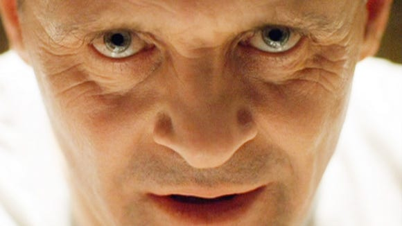 """Anthony Hopkins in """"The Silence of the Lambs."""" The Oscar-winning film leaves Netflix in December."""