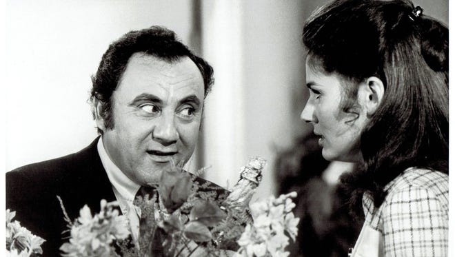 "Bill Dana appears in ""Love, American Style"" in 1970 with Ann Prentiss."