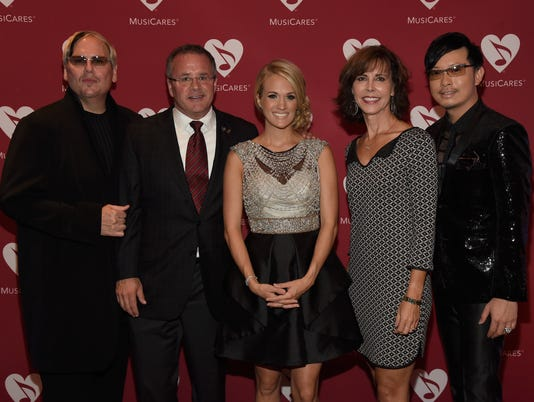 MusiCares Private Concert With Carrie Underwood