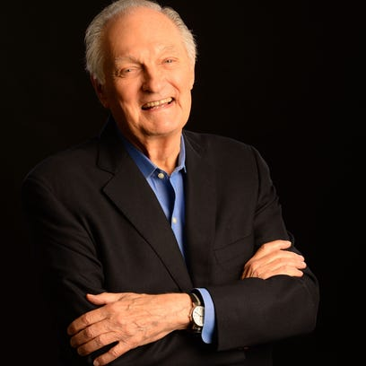 Alan Alda in New York on June 6. His new book is called