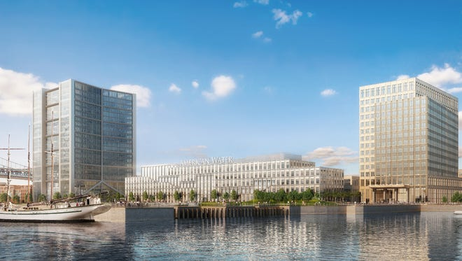 Liberty Property Trust on Monday said it would employ Camden residents during construction of its Waterfront project.