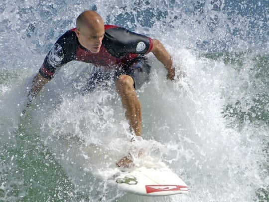 Kelly Slater has won 55 major titles.