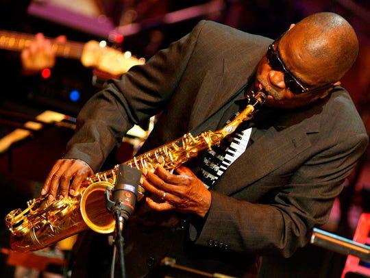 Soul jazz saxophonist Maceo Parker.