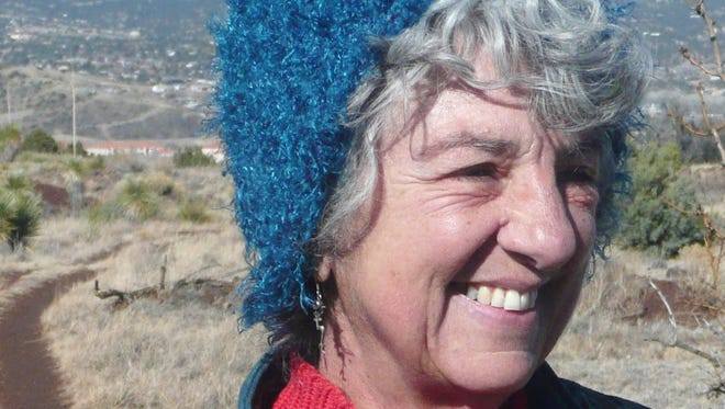 Silver City Vegan Support Group organizer Azima Lila Forest. The group will meet at noon on Saturday at the Market Cafe.