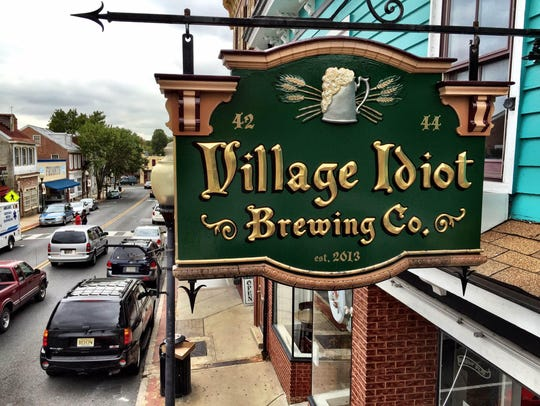 Village Idiot Brewing Co. in Mount Holly is part of