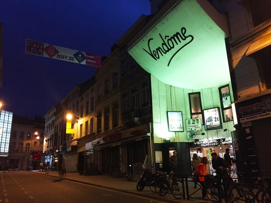 "One of the cinemas in Brussels where""Wolff's Law"" played during the film festival."