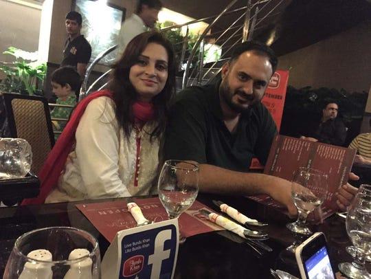 Jamila Saif Ali and Saif Ali Sadiq.