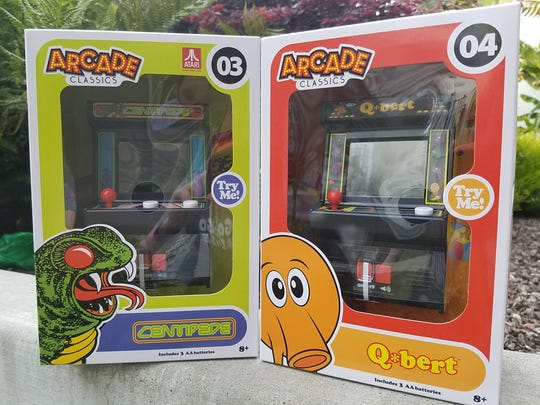 Arcade Classics give you all the electronic beeps and
