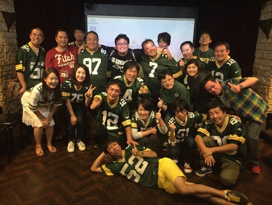 Japanese Packers fans gather in Tokyo for their annual
