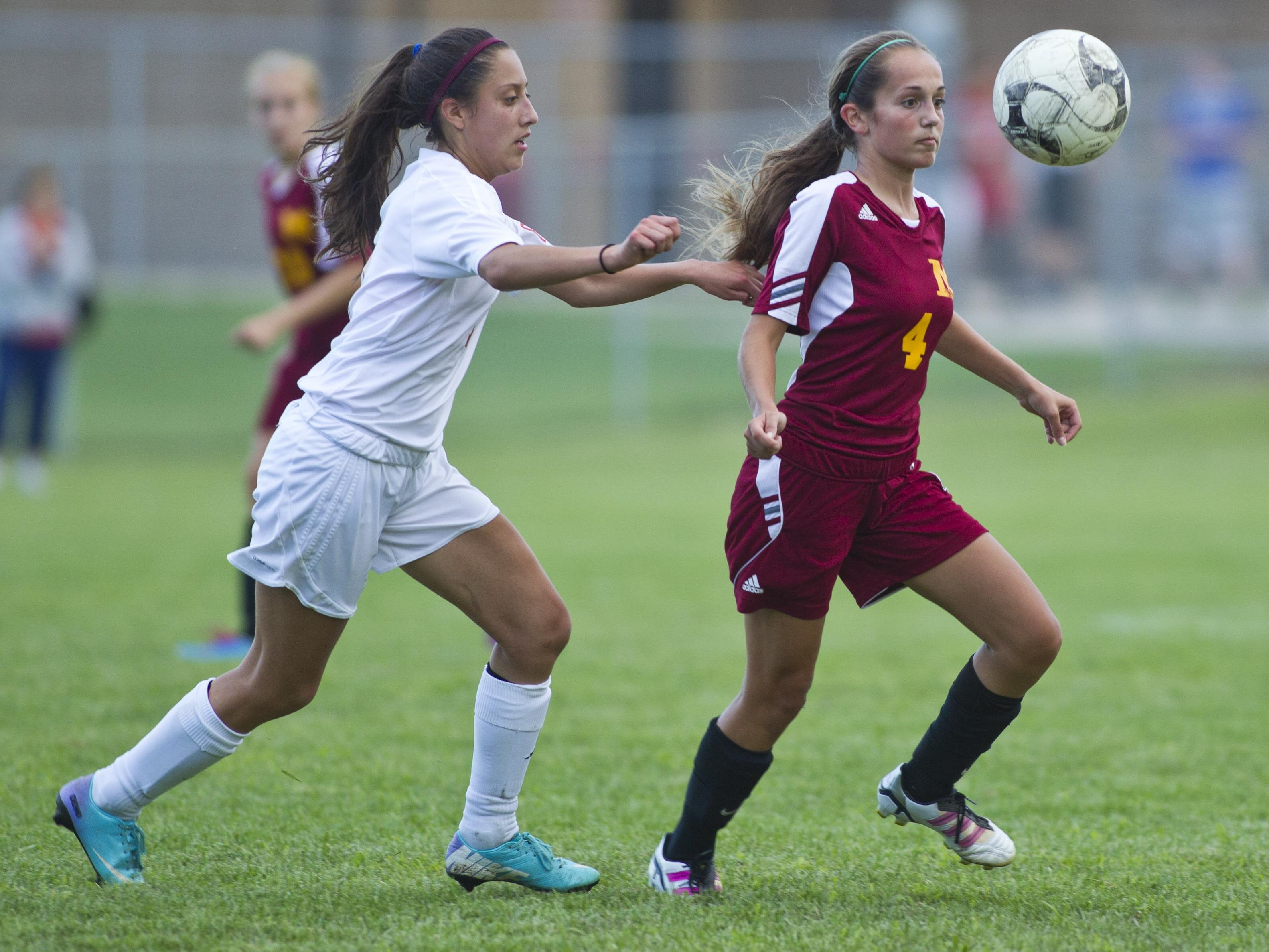 McCutcheon's MaKayla Merryman combats her small frame with quickness and ball handling skills to beat defenders.