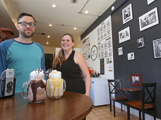 Kelly and Joe Segre have opened the Gré Coffee House and Art Gallery in downtown Palm Springs.