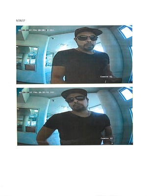 Clarksville Police are looking for this man in connection with ATM fraud.