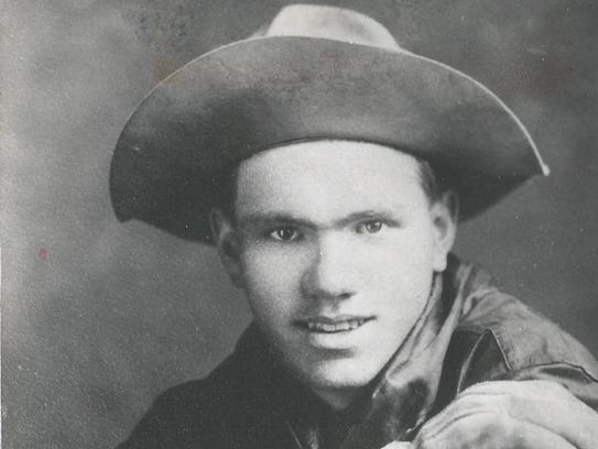 "Maxwell ""Freckles"" Atkinson was a member of the Buffalo"