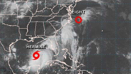Tropical Storm Hermine is making its way toward Florida.