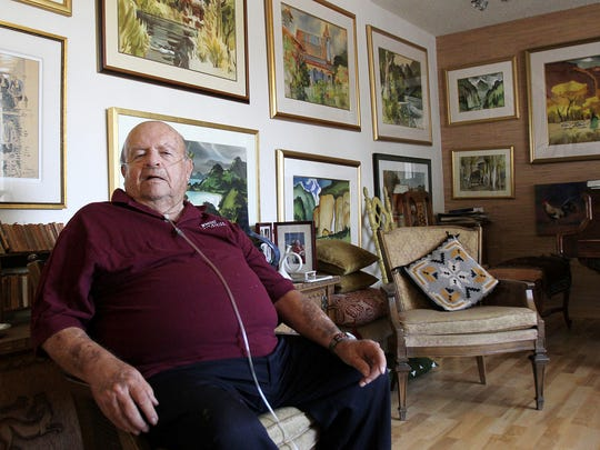 Robert Culpepper poses for a portrait in his home on Tuesday, August 21, 2012, in Farmington.