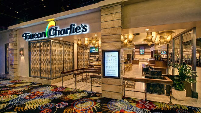 Toucan Charlie's Buffet & Grille in the Atlantis recently completed a multi-million dollar refashioning in which the old tropical decor was replaced by a sleeker, more modern look.