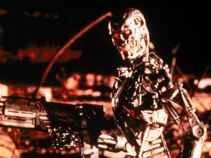 """10. """"Terminator 2."""" Can't leave James Cameron off this list. Arnold's best work, and the effects are still really impressive."""