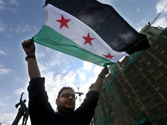 APTOPIX Mideast Lebanon Syria