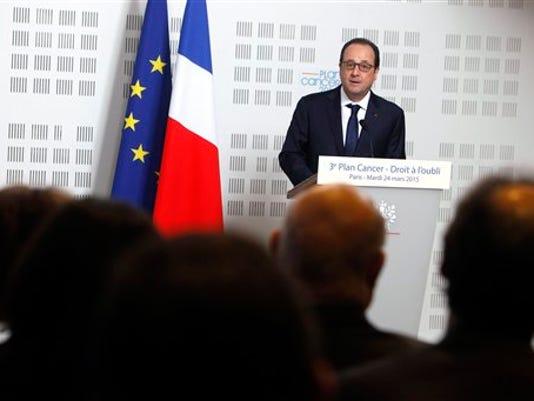 France Hollande Plane Crash