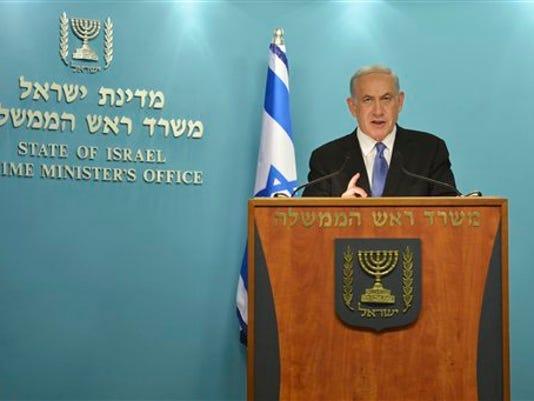 Mideast Israel Iran Nuclear