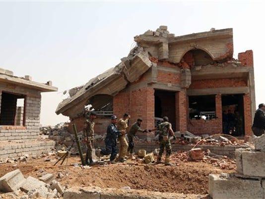 Mideast Iraq Islamic State After Tikrit