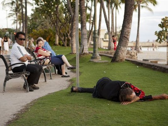 Hawaii Homeless