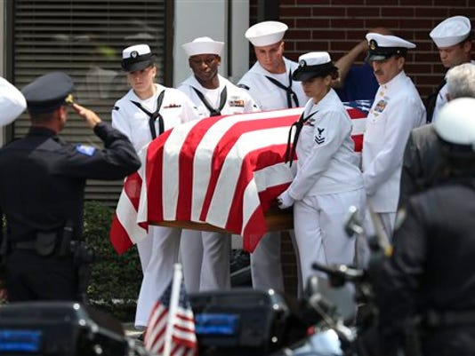 Chattanooga Shooting-Navy Officer Funeral