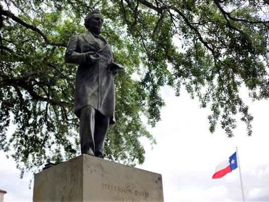 Confederate Symbols Davis Statue