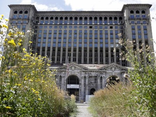 The Michigan Central Station