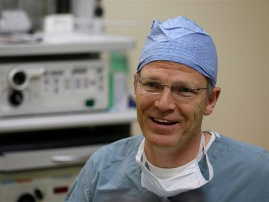 Dr. Glenn Green, a pediatric airway surgeon at the University of Michigan's C.S. Mott Children's Hospital.