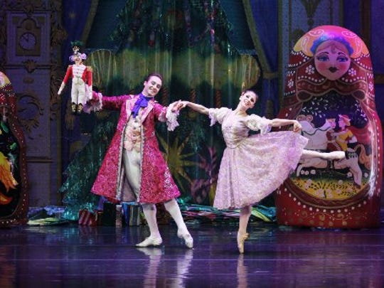 "The Moscow Ballet's ""Great Russian Nutcracker"" will be at the Fox for two performances Sunday."