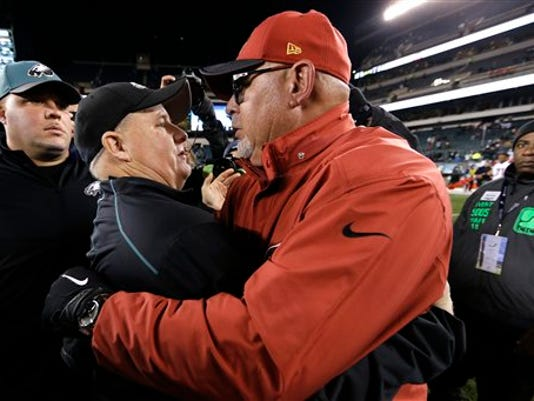 Chip Kelly,  Bruce Arians