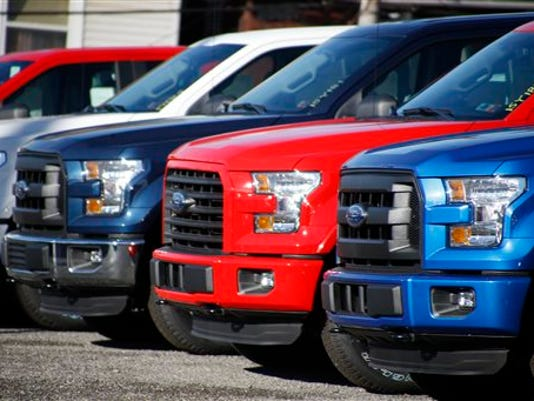2015 Ford F-150 Pickup Trucks