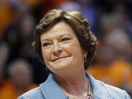 Former University of Tennessee women's basketball coach Pat Summitt.