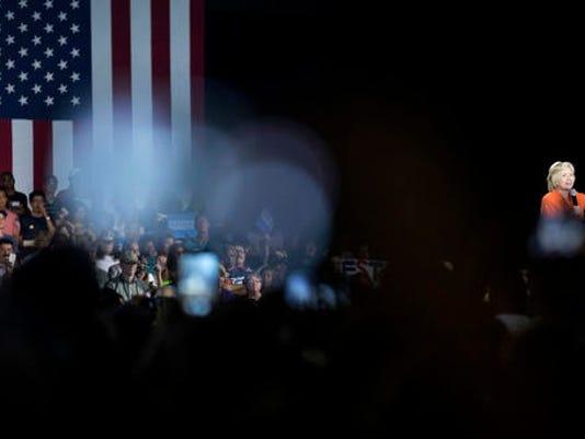 Seddique Mateen, Hillary Clinton