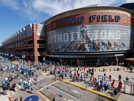 Ford Field Lions Titans