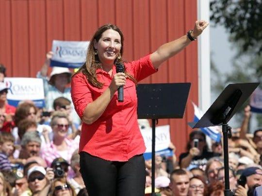 Ronna Romney McDaniel in 2012.