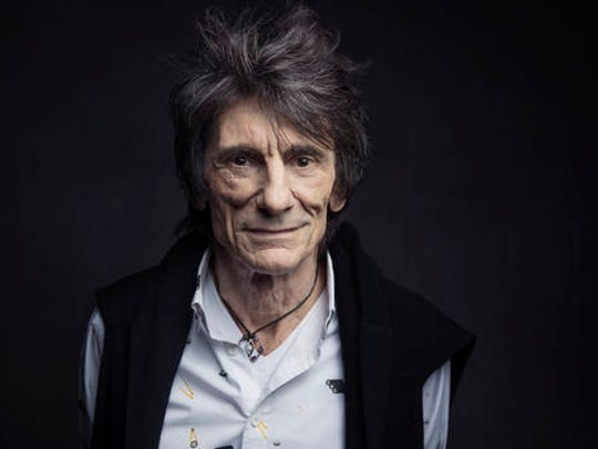 Ronnie Wood of the Rolling Stones poses for a portrait