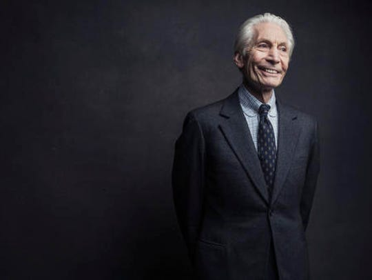 Charlie Watts of the Rolling Stones poses for a portrait