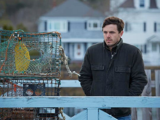 "This image released by Roadside Attractions and Amazon Studios shows Casey Affleck in a scene from ""Manchester By The Sea."" The film has been named best film by the National Board of Review, which lavished four awards on Kenneth Lonergan's New England portrait of grief. In awards announced Tuesday by the National Board of Review, ""Manchester by the Sea"" also took best actor for Casey Affleck's lead performance, best screenplay for Lonergan's script and best supporting actor for the breakout performance by Lucas Hedges."