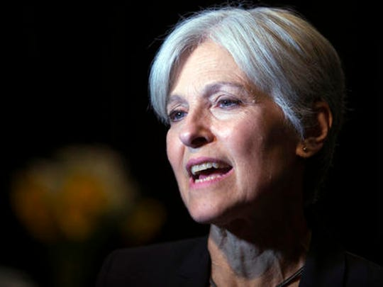 FILE - In this Oct. 6, 2016 file photo, Green party