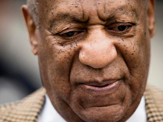 Bill Cosby arrives for a pretrial hearing in his sexual
