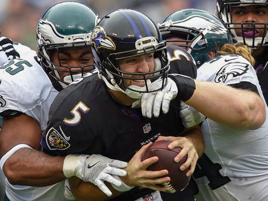 Joe Flacco, Brandon Graham, Beau Allen