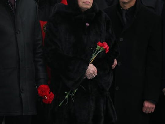 Marina, the wife of Russian Ambassador to Turkey Andrei