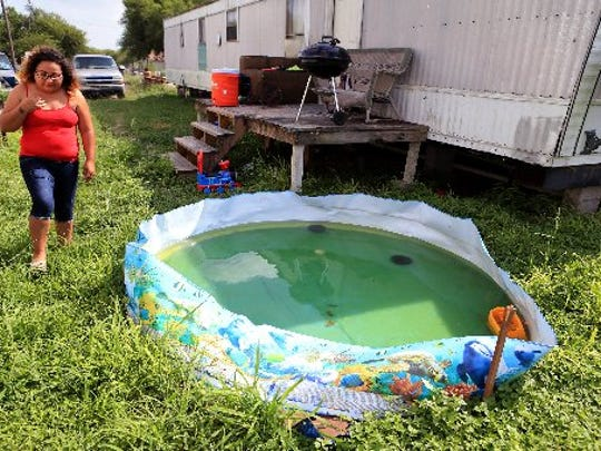Jessica Niles bought this pool for her younger children