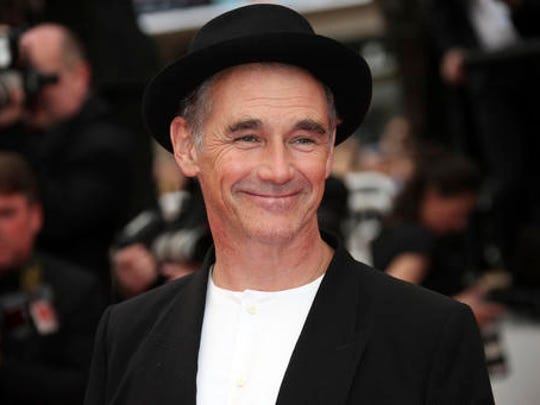 FILE - In this file photo dated  Saturday, May 14, 2016, actor Mark Rylance poses for photographers at the screening of the film The BFG, at the 69th international film festival, Cannes, southern France. During the Queen's 2017 New Year Honors list Rylance, 56, receives a knighthood, recognised for his services to theatre.
