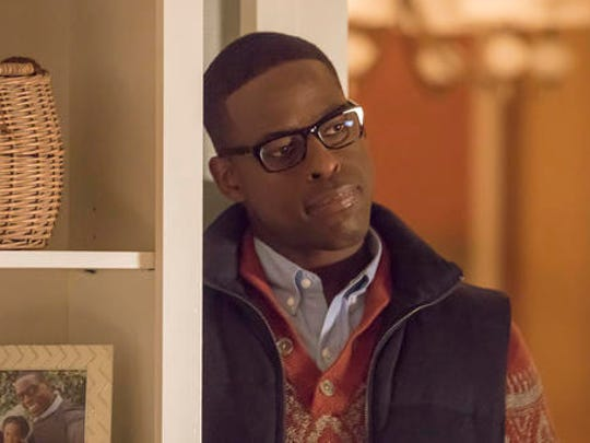 "This image released by NBC shows Sterling K. Brown as Randall in a scene from the NBC series, ""This Is Us."" The series was renewed for two more seasons."