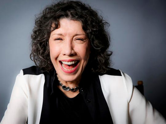 In this Oct. 26, 2016 photo, Lily Tomlin poses for