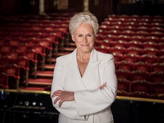 "FILE - This Nov. 2, 2015 file photo shows Glenn Close during a photo call for the musical ""Sunset Boulevard"" in London. Close is reprising her Tony-winning role as Norma Desmond in the English National Opera's stripped-down revival of the Andrew Lloyd Webber musical."