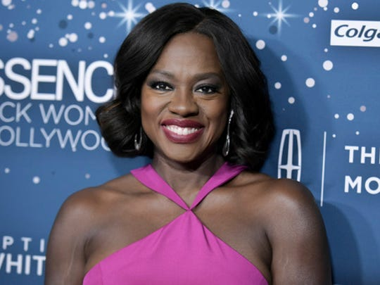 Viola Davis attends the 10th Annual Essence Black Women in Hollywood Awards ceremony on Thursday, Feb. 23, 2017, in Beverly Hills, Calif.